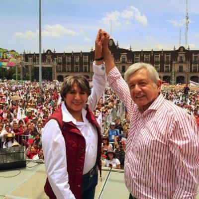 AMLO designa a Delfina Gómez como secretaria de Educación
