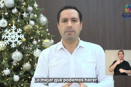 Los yucatecos no están solos y en 2021 saldremos adelante: Mauricio Vila