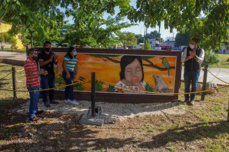 Con apoyo ciudadano, embellecen espacios públicos de Mérida