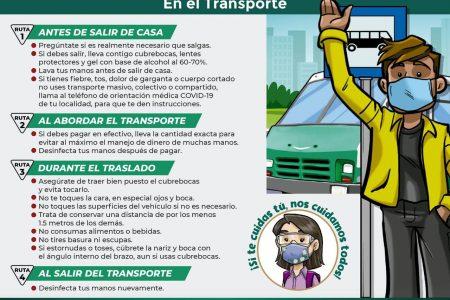 IMSS pide mantener medidas contra Covid-19 en el transporte público