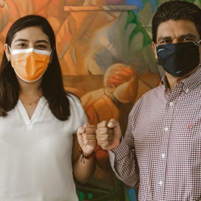 Jorge Victoria Maldonado se integra a las filas de Movimiento Ciudadano