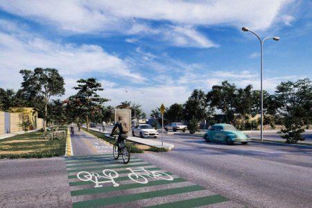 En marcha primera etapa del Plan de Infraestructura de Ciclovías para Mérida