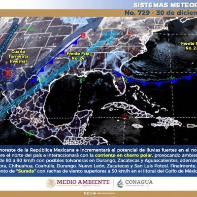Templado invierno en Mérida: ayer se registraron 29 grados en el día