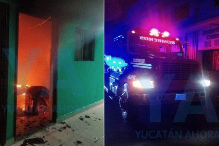 Exceso de pasión y fuego en la habitación de céntrico motel en Mérida