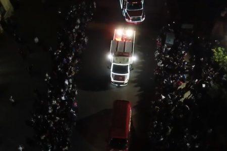 Cancelan la Caravana Coca Cola 2020: se amontonó la gente en Kanasín