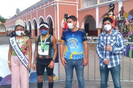 """Covid-19 no frena a los """"runners"""": participación activa en la carrera virtual Chacmutún-Tekax"""