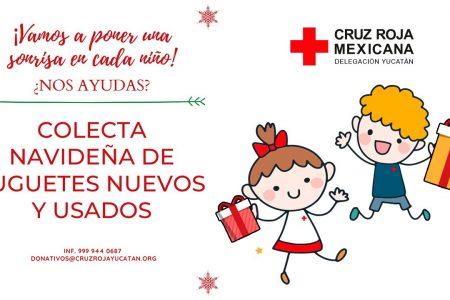 Arranca la colecta navideña de juguetes de la Cruz Roja