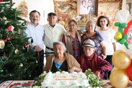 Cumplen 80 años de casados y podrían ser el matrimonio más longevo de Yucatán