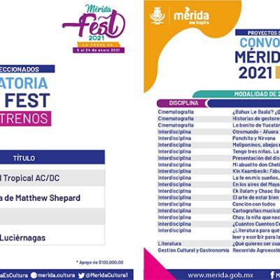 Gran respuesta a dos convocatorias para participar en el Mérida Fest 2021