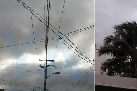 Puntual llegada del frente frío de Navidad en Yucatán