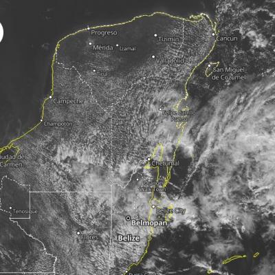 Surada retrasa la llegada de frente frío a Yucatán