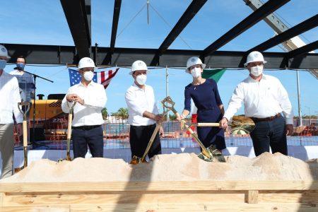 Inicia la construcción del nuevo consulado de Estados Unidos en Mérida