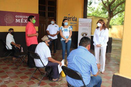 Familias de comisarías del sur de Mérida obtienen el título de propiedad