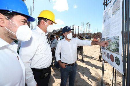 Mauricio Vila supervisa obras del Programa de Mejoramiento Urbano 2020 en Progreso