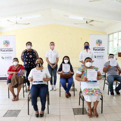 Fuerte impulso del Gobierno de Yucatán al autoempleo en el interior del estado