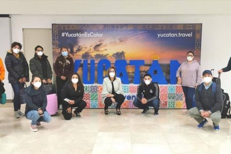 Viaja brigada del IMSS Yucatán para luchar contra Covid-19 en CDMX