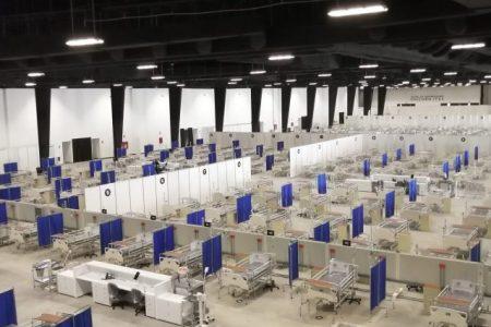 El hospital del Siglo XXI, sin pacientes desde hace un mes
