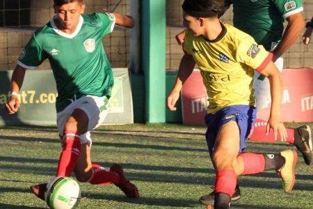 Goles yucatecos en el triunfo de México en la Copa América de Fut7
