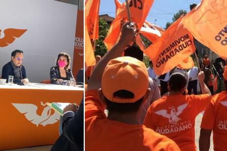 Renuevan la dirigencia de Movimiento Ciudadano en Yucatán