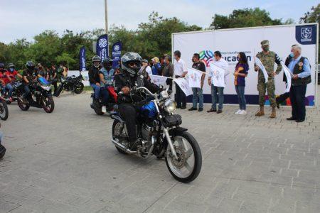 Sencilla celebración del Día del Motociclista en la 'nueva normalidad'