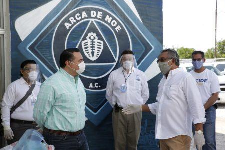Mérida, con una sociedad solidaria y valiente frente a la pandemia de Covid-19