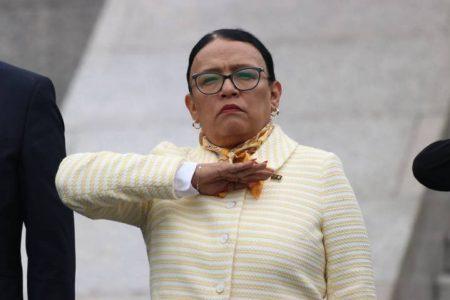 Rosa Icela Rodríguez se incorpora de manera presencial a Seguridad