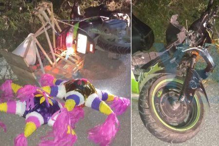 Fallece regidor en trágico accidente de motocicleta