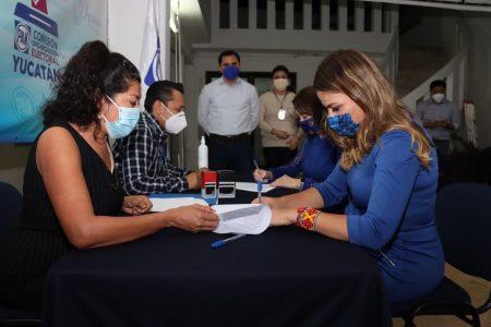 Se registra Cecilia Patrón como precandidata del PAN a diputada federal por el IV Distrito
