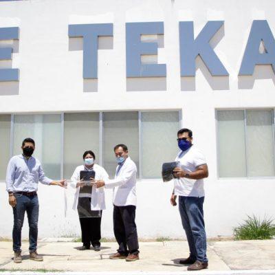 Con buenos resultados, el Hospital General de Tekax cumple su primer aniversario