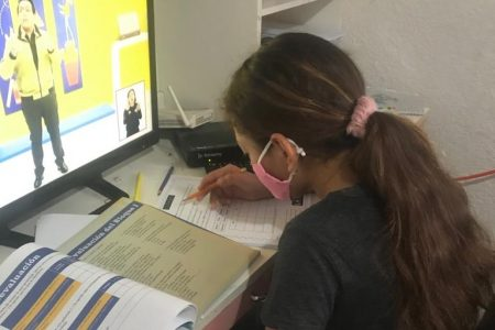 En Yucatán se mantienen las clases a distancia