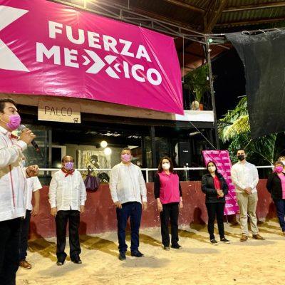 Se integran a Fuerza por México las diputada Silvia López y Milagros Romero