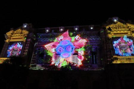 El Palacio Cantón, lienzo del videomapping 'El jardín secreto'