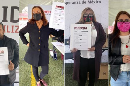 Se inscriben aspirantes a diputaciones federales por Morena en Yucatán