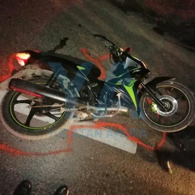Camión atropella una moto en la carretera a Umán: una joven fallecida