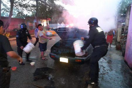 Mañanero incendio de un automóvil