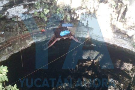 Turista francés se ahoga en un cenote del oriente de Yucatán