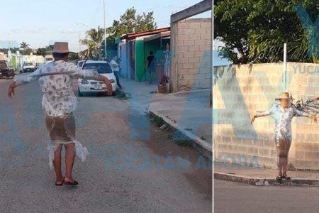 Por desobediente, 'amarran' a un joven de 17 años a un poste en Ciudad Caucel