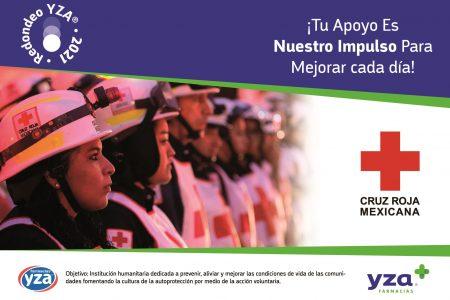 Farmacias YZA se solidariza con la Cruz Roja en Yucatán