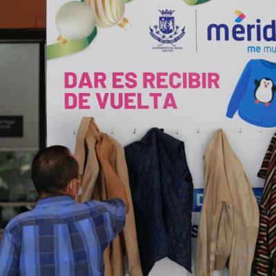 Cálida iniciativa en días de 'heladez' en Mérida