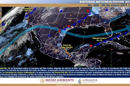 Continúa Mérida por debajo de los 30 grados