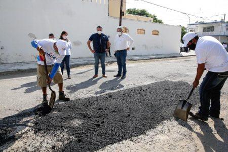 El Ayuntamiento avanza a buen ritmo en mejoramiento de calles: Renán Barrera