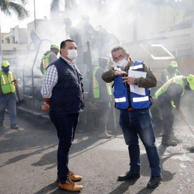 Calles más seguras, de calidad e incluyentes en Mérida: Renán Barrera