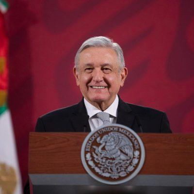 El presidente AMLO informa que se contagió de Covid-19