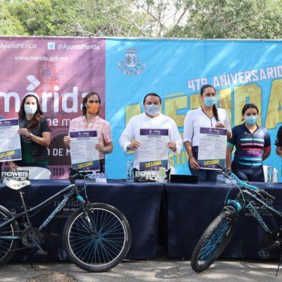 Los eventos deportivos continúan por el aniversario de Mérida