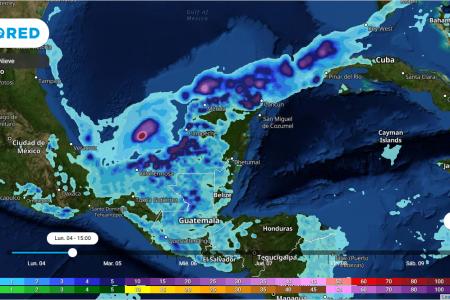 Pronostican la llegada de frentes fríos con lluvias durante enero en Yucatán