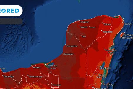 Vienen más días de calor para la Península de Yucatán