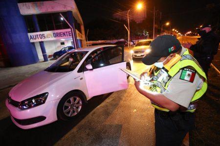 La SSP impuso 60 multas a conductores que circularon fuera de horario