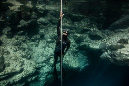 El cenote de Ucil será el escenario de tres posibles récords mundiales