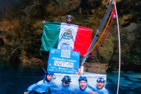 A una semana de su hazaña: Alejandro Lemus, satisfecho con sus récords mundiales