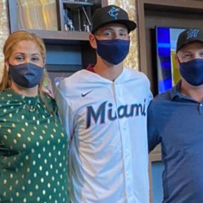 Prospecto de los Leones firma con los Marlines de Miami